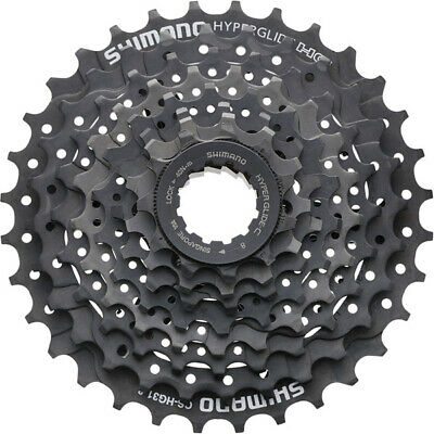 8 Speed Cassette Shimano HG31 All Sizes Bicycle Rear Gears Sprocket Cogs • 15.99£