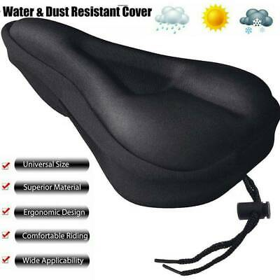 Bike EXTRA Comfort Soft Gel Pad  COVER  Comfy Cushion Saddle Seat Cover Bicycle • 5.99£