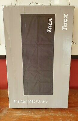 Tacx Trainer Mat Foldable - T2910. Brand New. • 8.50£