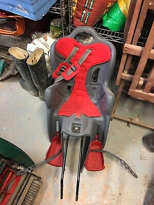 Rear Bicycle Bike Safety Seat Carrier Child Kids Toddlers • 30£
