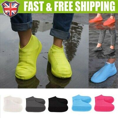 Silicone Overshoes Rain Waterproof Shoe Covers Boot Cover Protector Recyclable • 3.97£