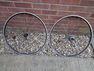 700c Wheelset 8 Speed Excellent Condition • 39.95£