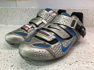 Nike Lance Armstrong Limited Edition Discovery Channel Carbon Cycling Shoes UK9 • 25£