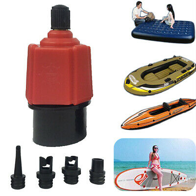 Pump Adapter Inflatable Boat Adaptor Air Valve Paddle Board Accessories • 7.98£