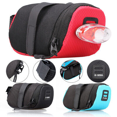 Bike Bicycle Saddle Bag Under Seat Waterproof Storage Tail Pouch Cycling Bags  • 3.99£