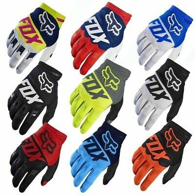 2017 Fox Dirtpaw Bici Cycling Motorcycle Motoroad Sport Racing Riding Gloves • 12.89£