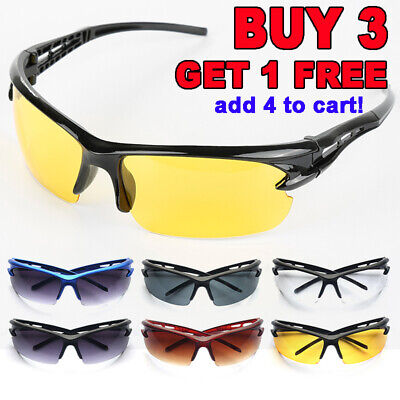 Cycling Eyewear Bicycle Sun Glasses Sports Mountain Bike Explosion-proof Goggles • 4.39£