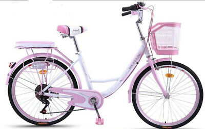 Bikes For Girls 26 Inch City Bike With Basket • 165£