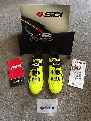 Boxed Sidi Carbon Road Shoes (RRP £299) - Size 48 - Nearly New • 115£
