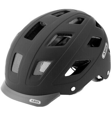 ABUS City Urban Hyban Core Bicycle Helmet – Black, M • 15£
