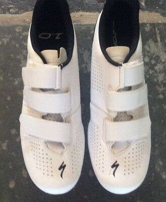 Specialized Torch 1.0 Road Shoes White - Uk 11 • 55£