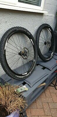 650 B Wheel Set With Tyres Nobbly NICKS  • 147£