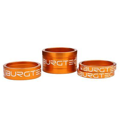 Burgtec Stem Spacer Kit Iron Bro Orange (5mm Spacer X2 10mm Spacer 20mm Spacer) • 9.99£
