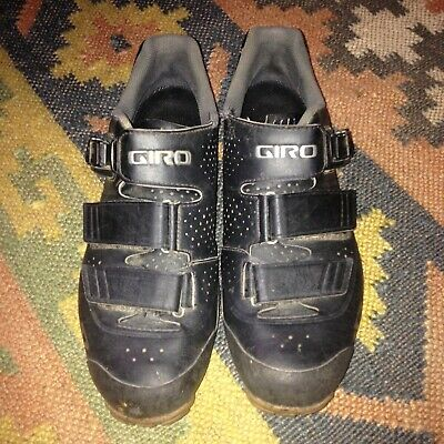Giro Privateer SPD Shoes With Cleats And Toe Spikes / 8 UK 42 EU / Gravel CX MTB • 25£