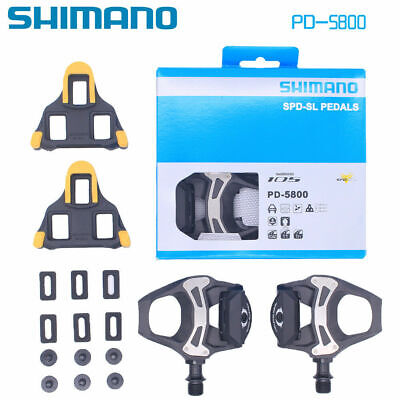 Shimano 105 PD-5800 Carbon SPD-SL Road Cycling Bike Pedals Clipless 9/16  UK • 55£
