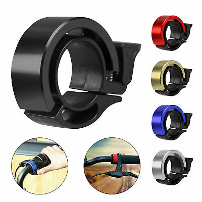 Bicycle Bell Aluminum Alloy Bike Bell MTB Handlebar Alarm Ring Invisible Q Bell • 2.89£