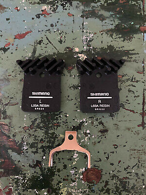 Shimano Disc Brake Pads L03A Alloy Backed Cooling Fins Dura-Ace Ultegra - NEW • 14.95£