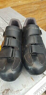 Shimano RP3 Cycling Shoes With Shimano Cleats VGC Size UK 10.5 (46) • 30£