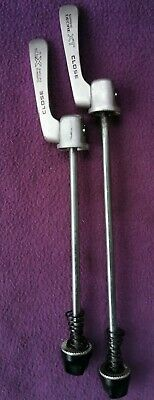 VGC Shimano XT Qr Skewers, Pair Front And Rear, Silver  • 25£