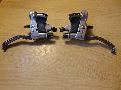 Shimano STX-RC 3 X 7 Speed Shifters And Brake Levers, ST-MC36 • 28£