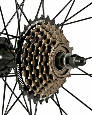 Shimano 7 Speed MF-TZ500-7 Index 14-28 Freewheel Block Screw On Cassette • 15.99£