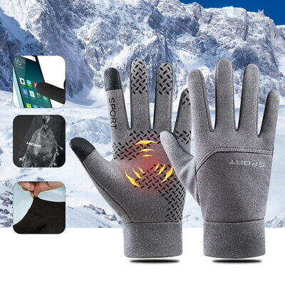 Mens Womens Liner Gloves Thermal Walking Sports Running Touch Screen Gloves UK ! • 4.99£