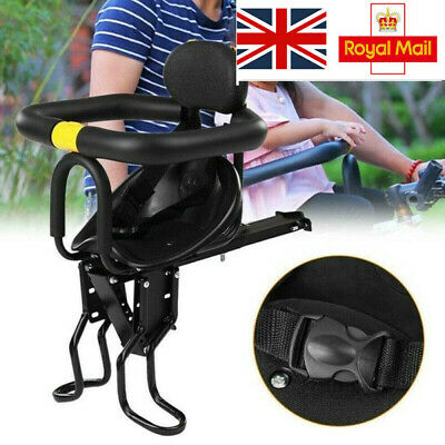 Kids Child Bike Seat Front Front Seat Carrier For Kids 1-6 Years Old Children • 17.87£