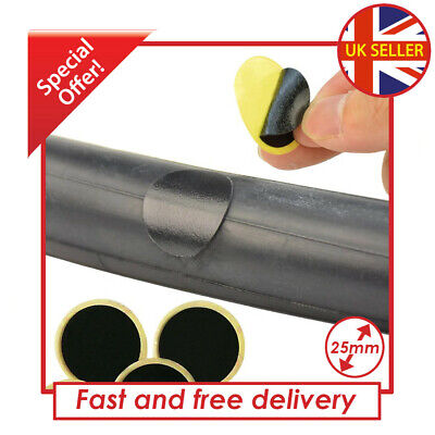 Bicycle Cycling Bike Tire Tyre Tube Puncture Patches Repair Kit • 2.95£