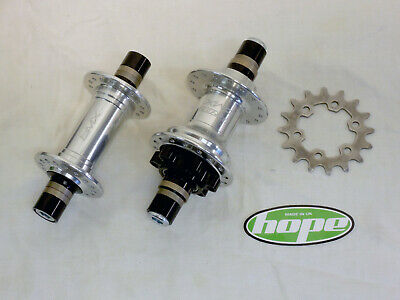 Hope Pro 2 BMX Race Hubs - Silver - 32 Hole + 16t Sporcket - 10mm Bolt-Up - NOS • 199.95£