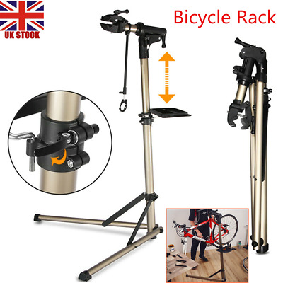 Bicycle Maintenance Repair Stand Adjustable Telescopic Arm Workstand Rack • 86.50£