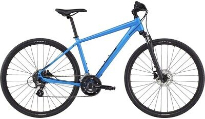 2020 Cannondale Quick CX 3 Hybrid Bike In Blue Womens • 200£