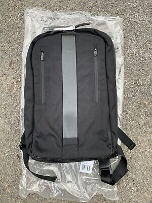 Rapha Backpack In Black Cordura Nylon With Black Leather Stripe - BNWT • 60£