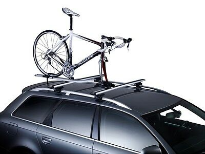 Thule 561 OutRide Roof Rack Bar Mounted Cycle Bike Carrier Fork Mounted • 129.95£