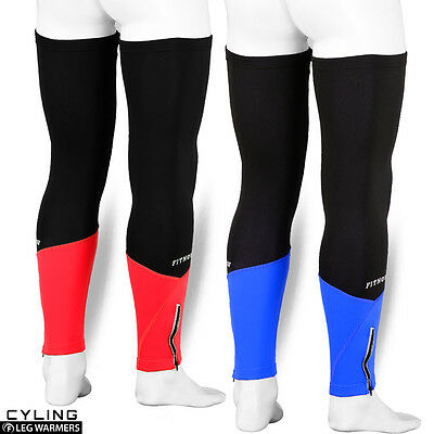 Cycling Leg Warmers Thermal Roubix Winter Cycle Running Knee Protection S/M-L/XL • 5.99£