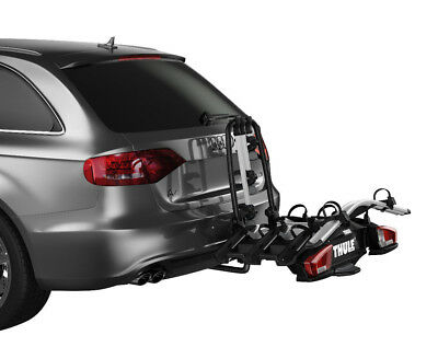 Thule 927 VeloCompact 4 Bike Cycle Carrier TowBar TowBall Mount Tiltable Locking • 599.95£