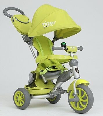 Little Tiger 4 In 1 Kids Children Child Baby Toddlers Trike Tricycle Stroller • 84.99£