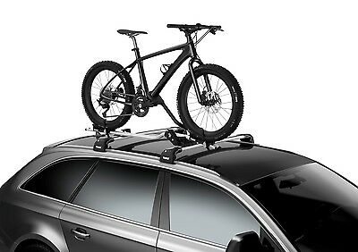 Thule 598 Pro-Ride Bike Cycle Carrier Roof Rack Mounted For FAT BIKES • 129.95£