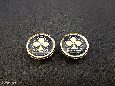 Vintage Style Colnago Gold Handlebar End Plugs • 8.35£