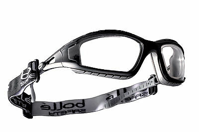Bolle Clear Lens Safety Glasses, Protective Eye Wear Goggles Tracpsi Rdg • 10.88£