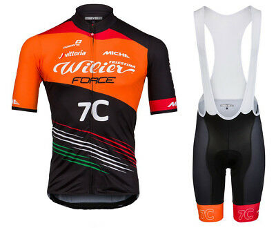 Mens Force Cycling Jersey And Bib Shorts Set Cycling Jerseys Cycling Bib Shorts • 20.14£