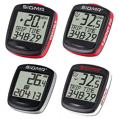 Bike Bicycle Cycling Computer Counter Wireless Or Wired Reliable Sport SIGMA UK • 17.53£