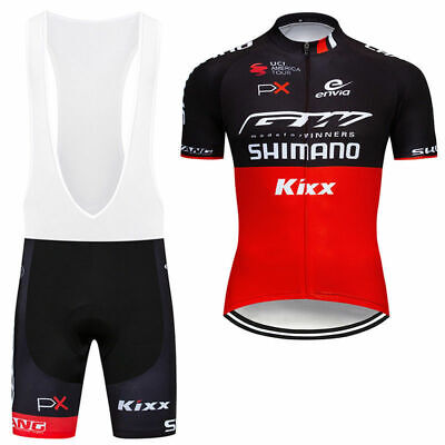 Cycling Jersey Men's Cycling Uniform Bicycle Bib Set Short Sleeve Bike Shirt • 16.88£