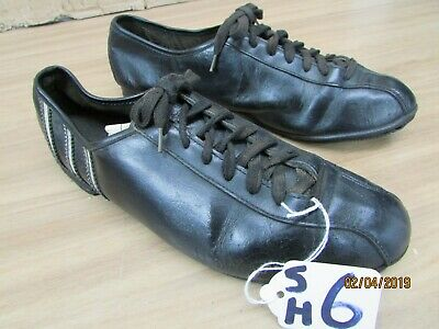 Size 6 Uk Vintage Leather Cycling Shoes In Average Condition • 22.50£