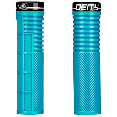 Deity Knuckleduster Lock-On Grips - All Colours - Mountain Bike MTB • 18.99£