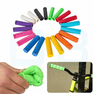 Soft BMX MTB Cycle Road Mountain Bicycle Scooter Bike Handle Bar Grips UK • 3.28£
