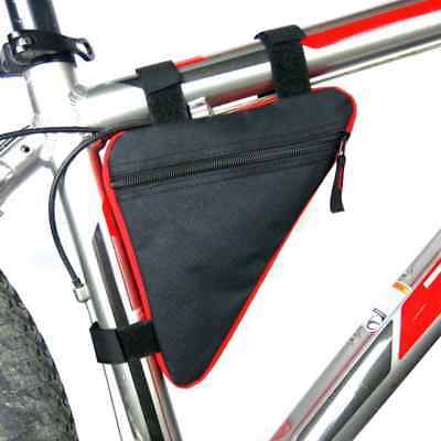 Cycling Road Bike MTB Bicycle Front Tube Triangle Storage Bag Pack Pouch New • 5.99£