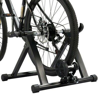 Folding Indoor Bike Cycling Turbo Trainer Magnetic Bicycle Exercise Fitness UK • 53.99£