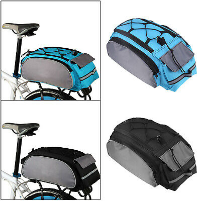 New Outdoor Bike Bicycle Cycling Rear Seat Double Panniers Bag Trunk Rack Pack • 8.19£
