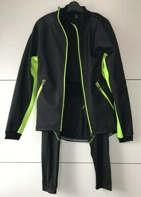 Sports Gear Cycling Jacket & Padded Trousers Set Outdoor Sport Medium Free P&P • 35.06£