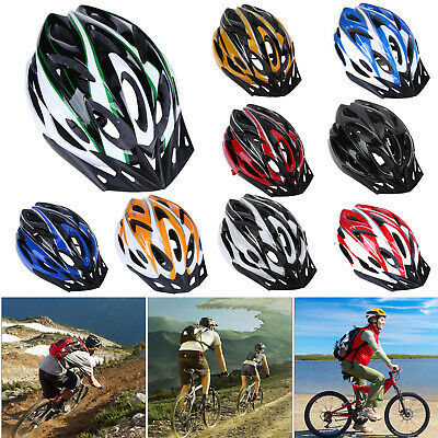 Unisex Road Mountain Bicycle  PC Helmet Bike Cycling Safety Helmet Outdoor Sport • 7.79£